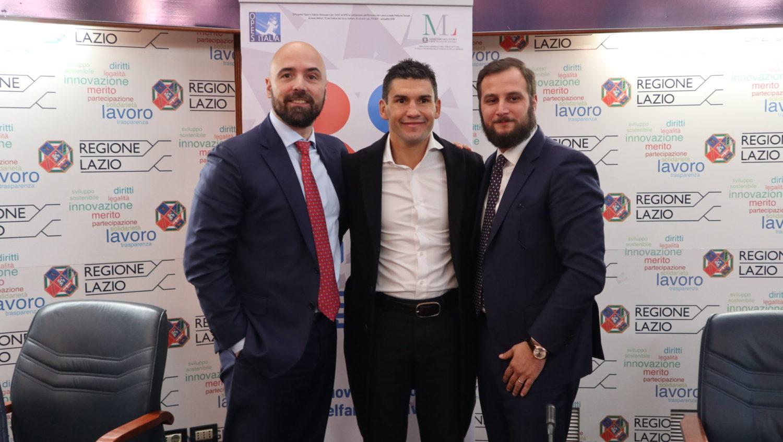 """Blandamura presenta """"Sport e Salute: Benessere Per Tutti!"""" al Salone d'Onore del CONI in occasione del Premio Giuliano Gemma"""